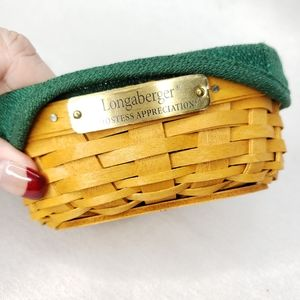 Longaberger Hostess Appreciation Basket Combo Ivy